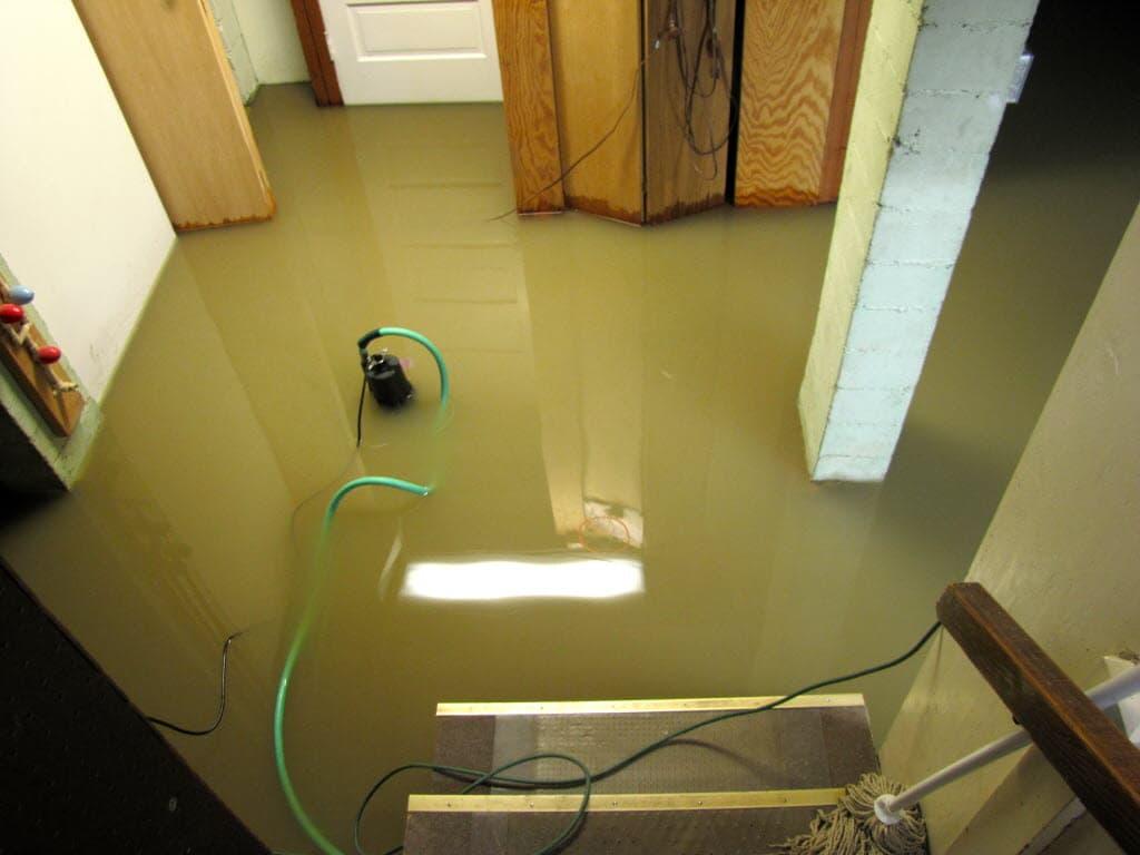 Sump Pump Basement Flooding